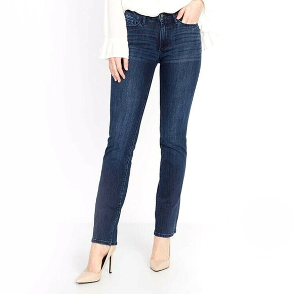 Buffalo David Bitton Denim - Buffalo David Bitton Hope Mid Rise Straight Jeans